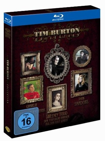 Tim Burton Collection Bluray
