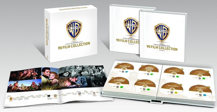 90 Jahre Warner Bros. Jubiläums-Edition - 90 Film Collection dvd