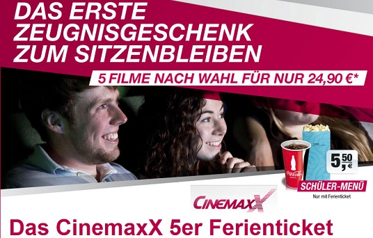 Cinemaxx Ferienticket