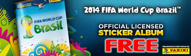 FIFA WM Album gratis