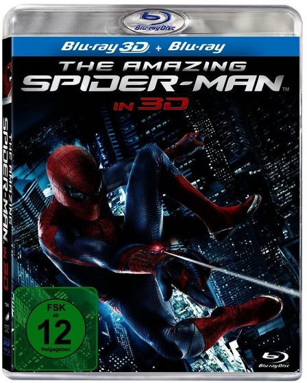 The Amazing Spider Man in 3D