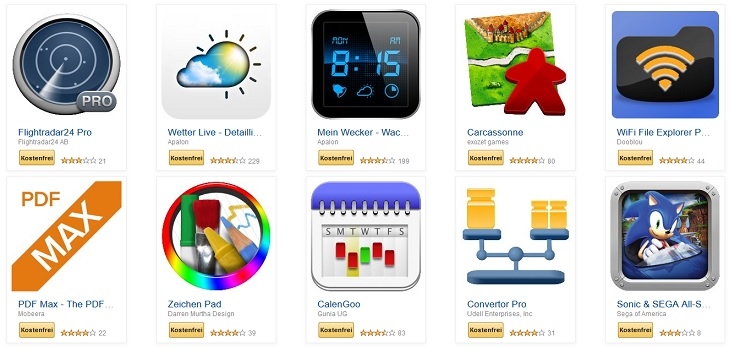 Android Apps Amazon
