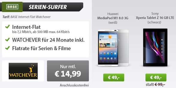 BASE Serien Surfer
