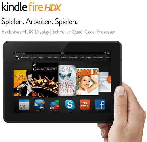 Kindle Fire HDX 7-Tablet