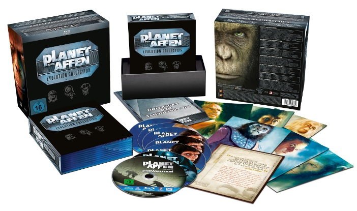 Planet der Affen Evolution Collection