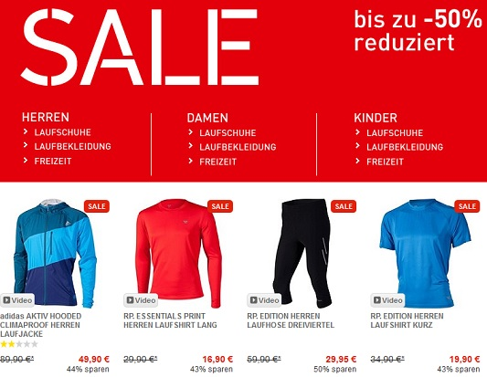Runners Point Sale