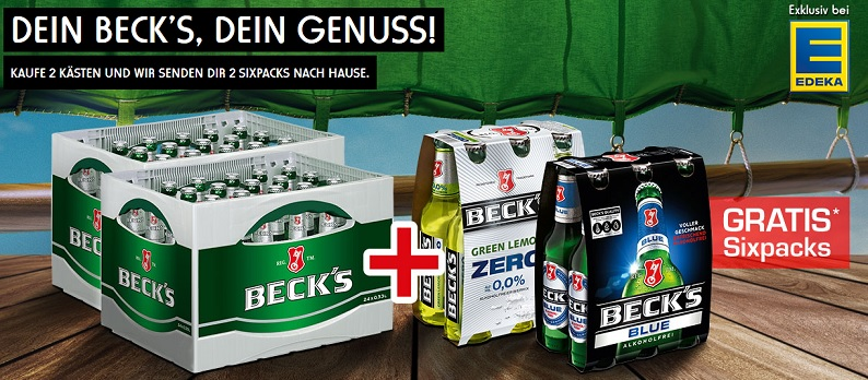 Becks Edeka Aktion