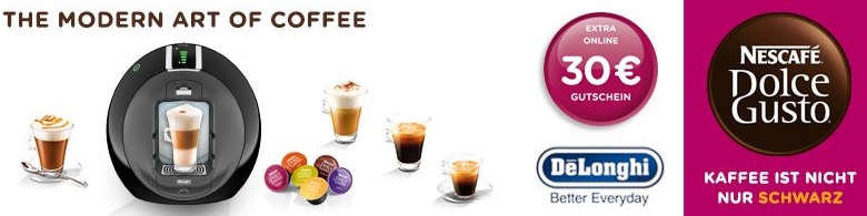 Dolce Gusto Cashback August 2014
