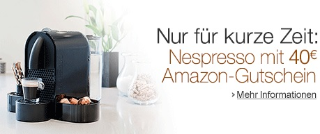 Nespresso Cashback Amazon