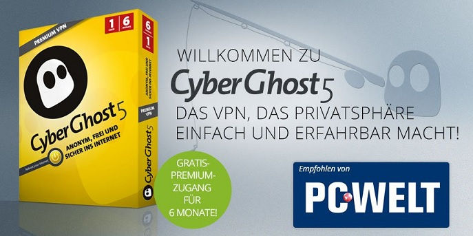 PCWelt CyberGhost 5