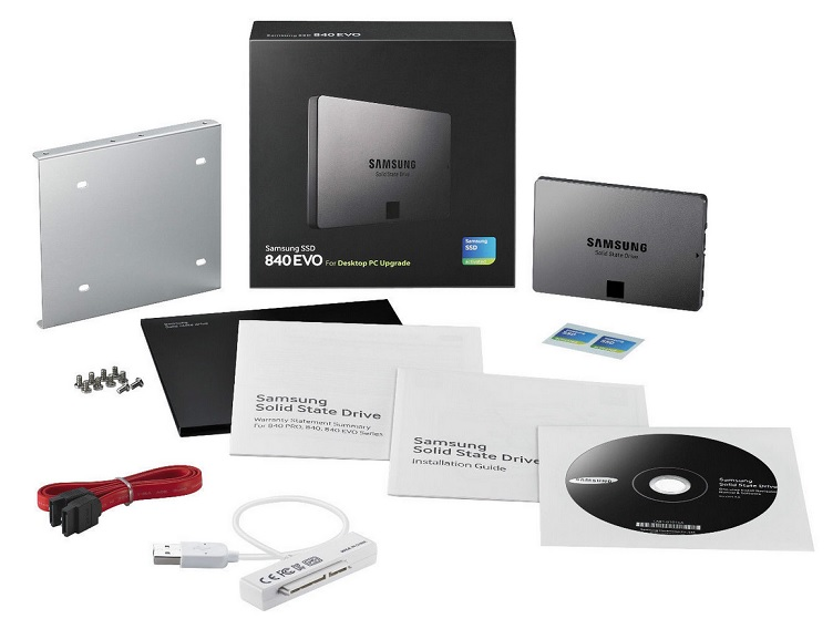 Samsung 840 Evo Series 120GB Desktop Kit