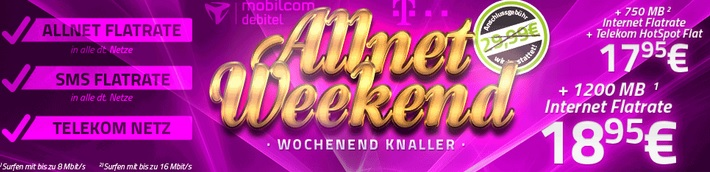 Telekom Allnet Weekend