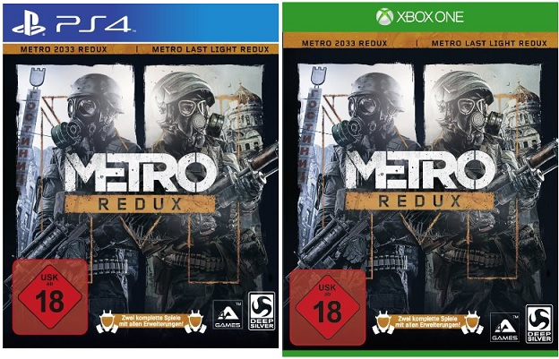 metro redux ps4 xbox one f r 31 99 bei b. Black Bedroom Furniture Sets. Home Design Ideas