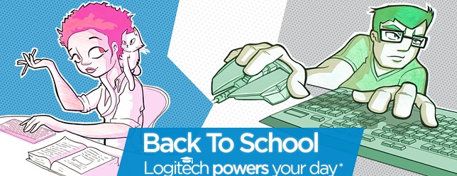 Back to School Logitech Aktion