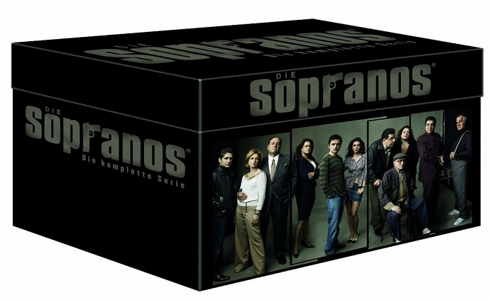 Die Sopranos - Die ultimative Mafiabox 28 DVDs