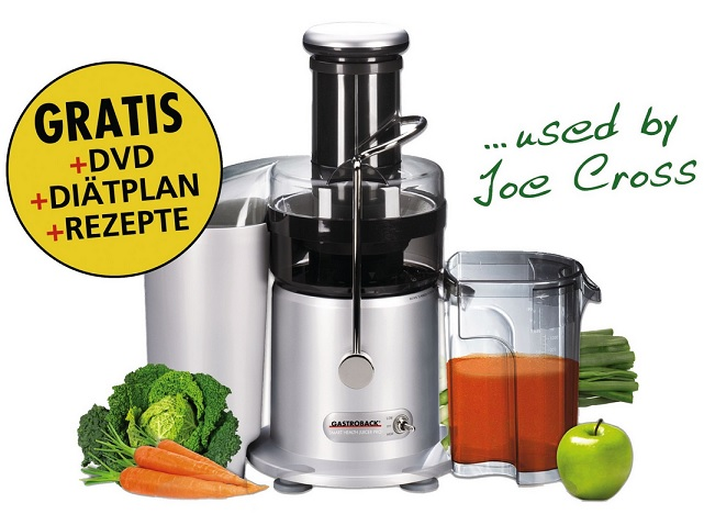 Gastroback Smart Health Juicer Pro