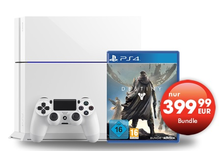 Sony PS4 weiss