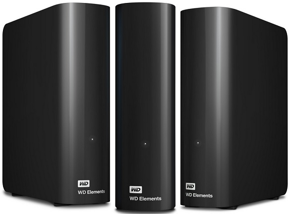 WD Elements Desktop externe Festplatte 4TB