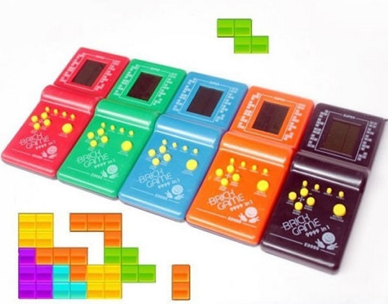 DS Childhood Developmental Tetris Game Handheld