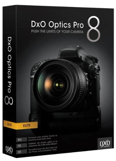 DxO Optics Pro 8 Elite