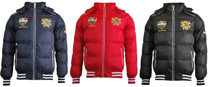 Geographical Norway Herren Winterjacken Burger Man