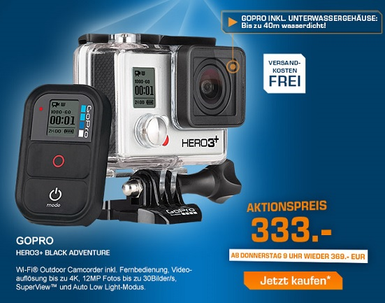 gopro hero3 silver edition general berholt f r 199 90. Black Bedroom Furniture Sets. Home Design Ideas