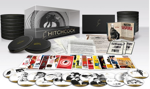 Hitchcock Collection bluray