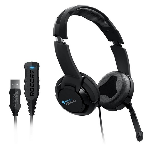 Roccat Kulo Virtual 7.1 Surround USB Gaming Headset schwarz