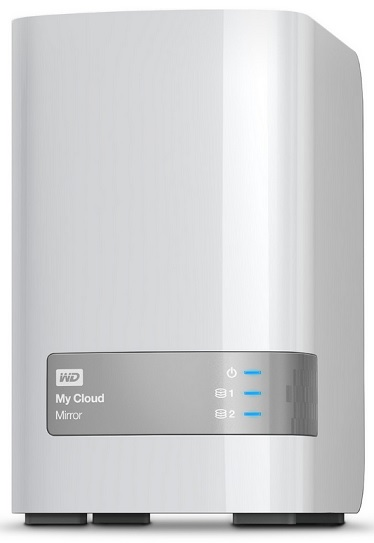 Western Digital My Cloud Mirror Persönlicher Cloud-Speicher 6TB