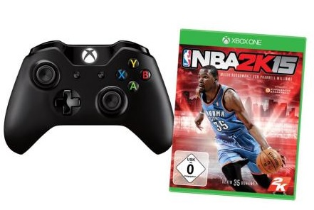 Xbox One Controller plus NBA2K15