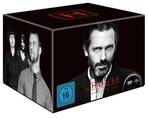 Dr. House - Staffel 1 - 8 Gesamtbox