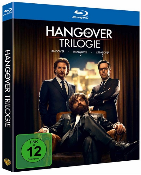 Hangover Trilogie bluray