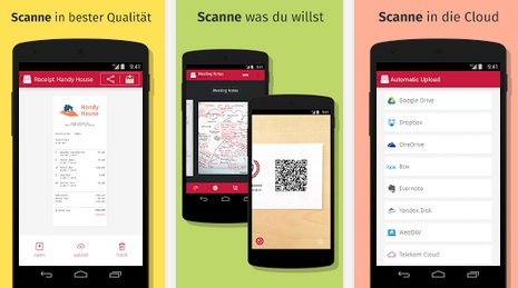 Scanbot ios Android gratis