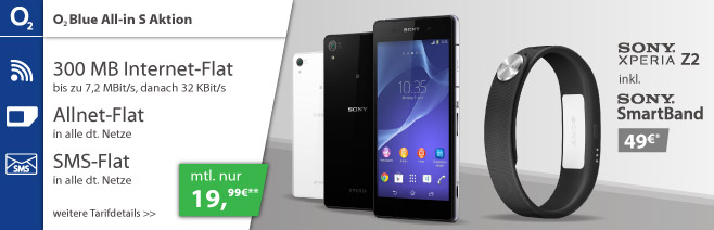 o2 blue all in aktion