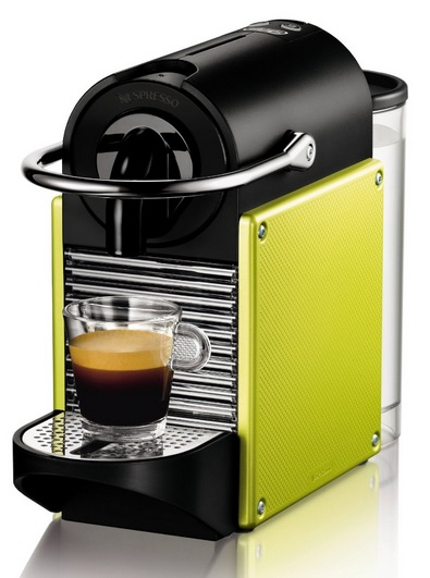 DeLonghi EN 125L Nespresso Pixie Electric Lime