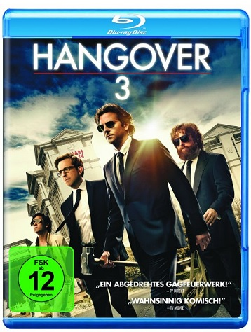Hangover 3 Bluray