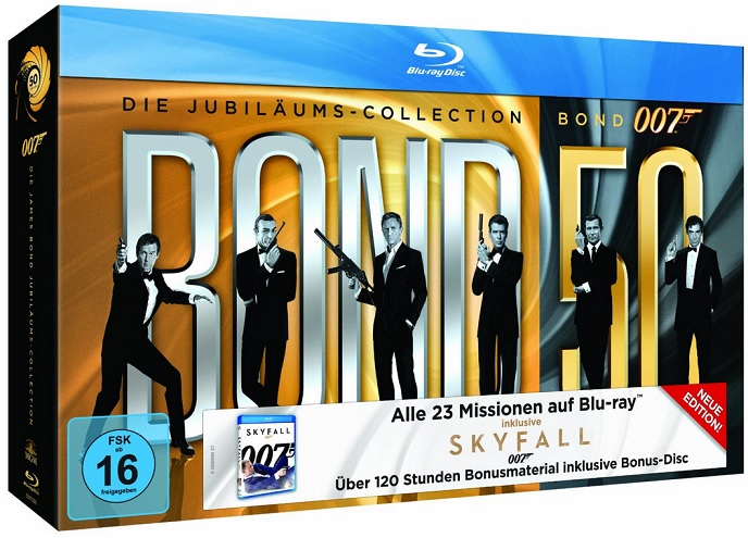 James Bond 007 Bluray