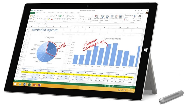 Microsoft PS2-00001 Surface Pro 3 8GB