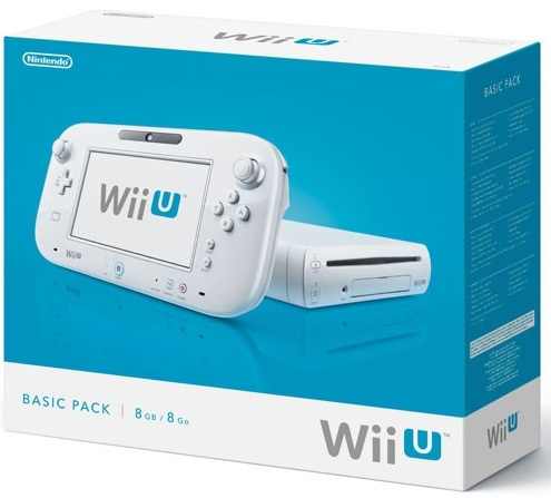 Nintendo Wii U Basic Pack 8GB
