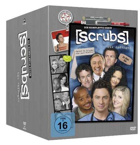 Scrubs DVD Box