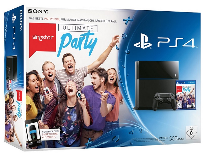 Sony PS4 Bundle Singstar
