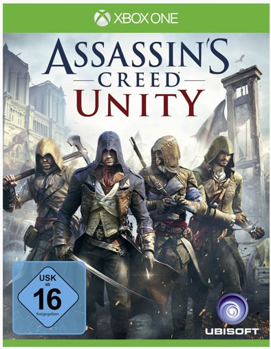 Xbox One Assassins Creed Unity