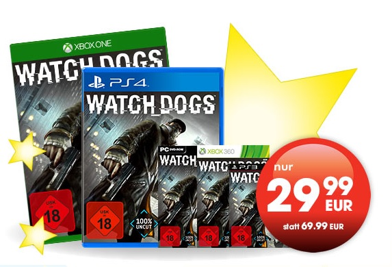 watchdogs alle konsolen