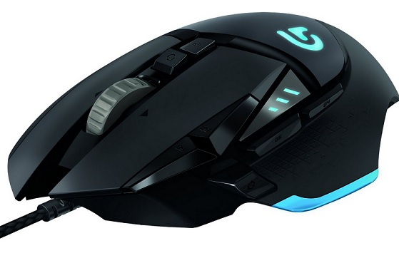 Logitech Proteus Core G502 Tunable Gaming Maus