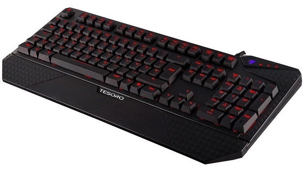 Tesoro Durandal Ultimate G1NL Brown Switch Gaming Tastatur