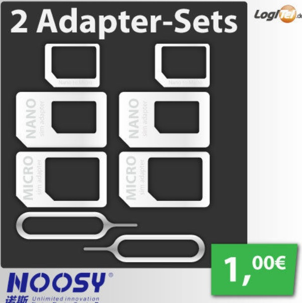 2 adapter sets
