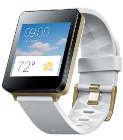 LG ELECTRONICS G WATCH W100 white
