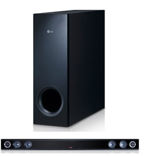 LG NB300 2.1 Soundbar mit wireless Subwoofer