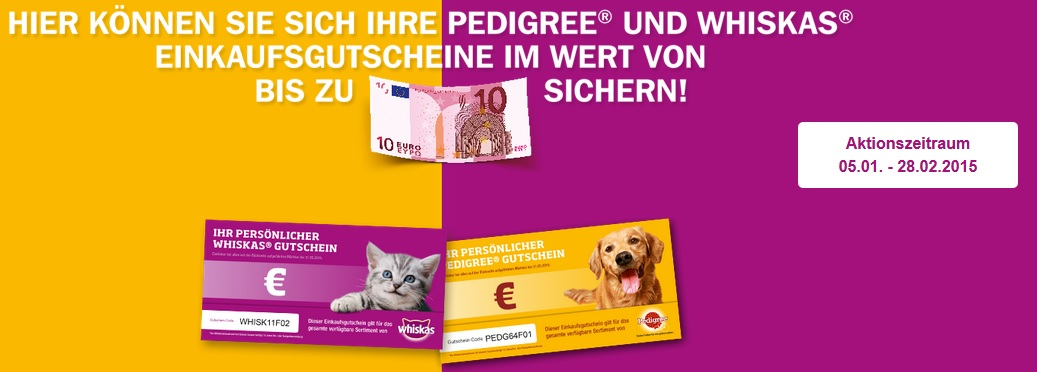 Whiskas Pedigree