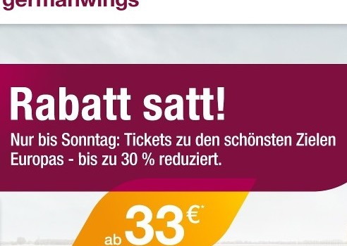 germanwings aktion